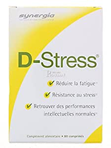 Amazon.com: Synergia D-Stress 80 Tablets: Health