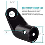 Titanker Upgraded Bike Bicycle Trailer Coupler