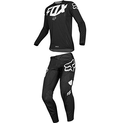 Fox Racing 2019 360 KILA Jersey and Pants Combo Offroad Gear Set Adult Mens Black Large Jersey/Pants 34W 360 Off Road Pants