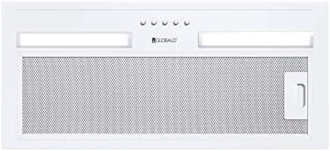 Campana extractora empotrable de acero Hadario 60.2, color blanco
