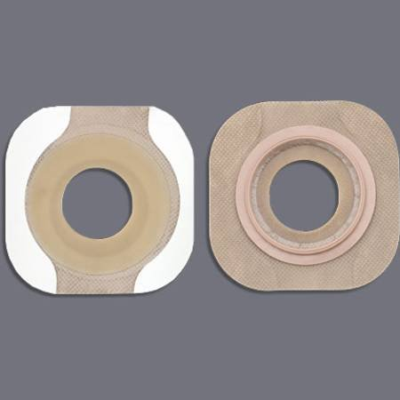 Hollister 87614900 Skin Barrier New Image Flexwear Pre-cut, Standard Wear Tape 2-1/4 Inch Floating Flange Red Code 1-3/4 Inch Stoma 14309 Box Of -