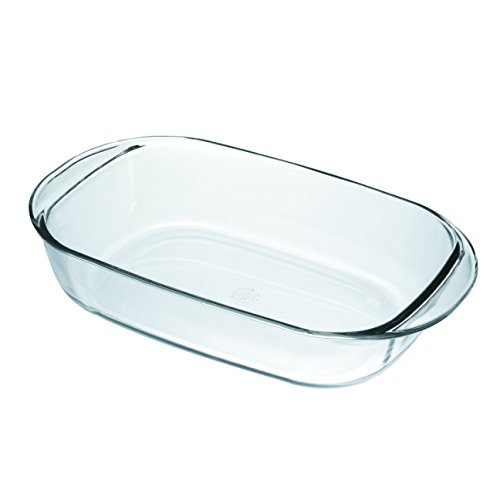 Duralex Made In France OvenChef Rectangular Baking Dish, 16 by 10-Inch