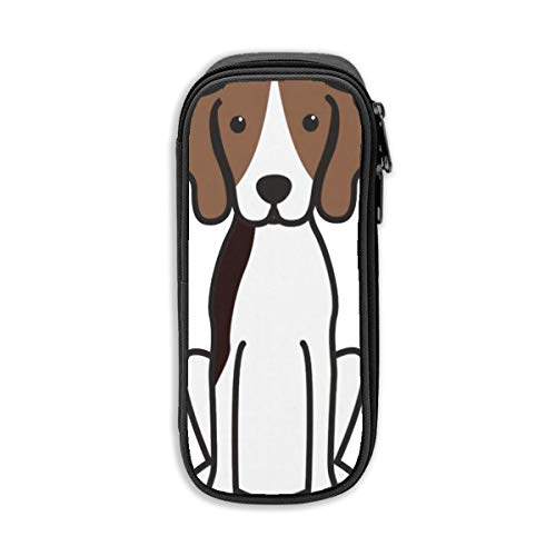 Treeing Walker Coonhound Dog Cute Waterproof Cosmetic Pouch Travel Make up Bags for Women Girl ()