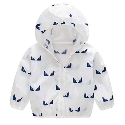 - Sherostore ♡ Unisex Kids UV/Sun Protection Zipper Hoodie Coat Lightweight Ultrathin Windbreaker Jacket for Travel Beach