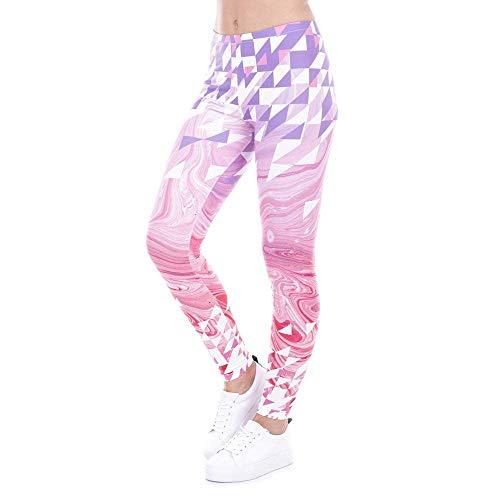 Damas Ancho Deporte Pantalones Yoga Ose Estampado Casuales Las Mujeres Clásico Lga43476 Pantalón Largos Chicos Floral De Con qIwg6I
