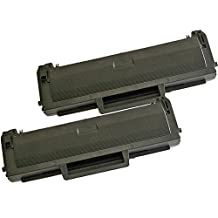 2 Inkfirst® Toner Cartridges D101S (MLT-D101S) Compatible Remanufactured for Samsung D101S Black ML-2164 ML-2164W ML-2165W SCX-3400 SCX-3400F SCX-3405 SCX-3405FW SF-760P