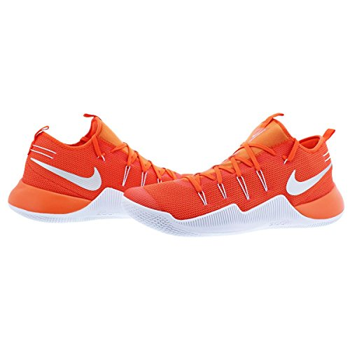 newest d4097 aaea3 ... coupon code for mesh nike basketball orange blaze up tb white shoes  silver lace promo mens