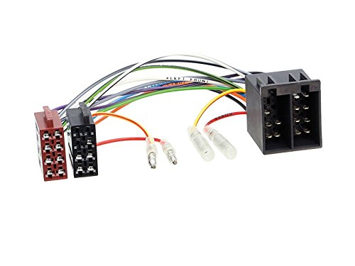 Carmedio FIAT Ducato 08-11 2-DIN Autoradio Einbauset in original Plug/&Play Qualit/ät mit Antennenadapter Radioanschlusskabel Zubeh/ör und Radioblende Einbaurahmen schwarz