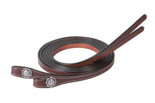 Weaver Leather Basin Cowboy Split - Rein Design