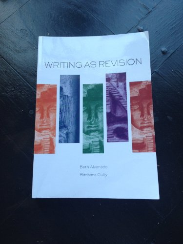 Writing As Revision