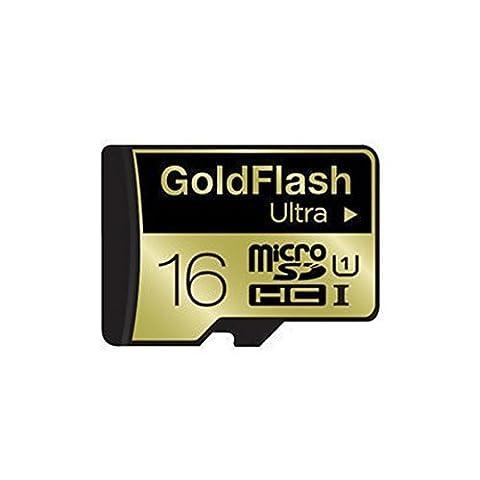 GoldFlash Micro SDHC Ultra UHS-I 16GB Class10 TLC (Micro Sd 64 Gb 60 Mb)
