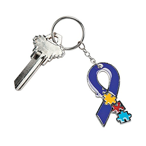 Autism Awareness Metal Keychains Awareness Key