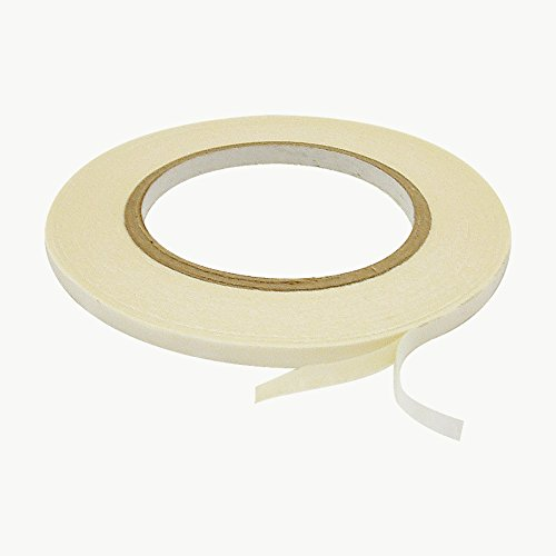 JVCC DCP-01 Double Coated Crepe Paper Tape: 1/4 in. x 36 yds. (Natural) (Crepe Paper Double compare prices)