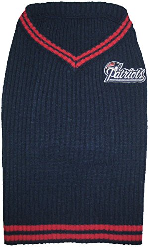 T-Shirts NFL New England Patriots Pet Sweater, X-Small by T-Shirts