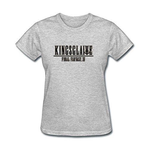 JUXING Womens Kingsglaive Final Fantasy XV Science Fiction Film T-shirt Size M ColorName