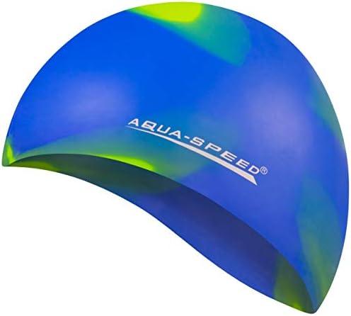 Aqua Speed Bunt Gorro de natación | Gorra de baño | Silicona | para Adultos | señoras | Hombres | diseños de Gorras | 37. Colorido / 93: Amazon.es: Deportes y aire libre