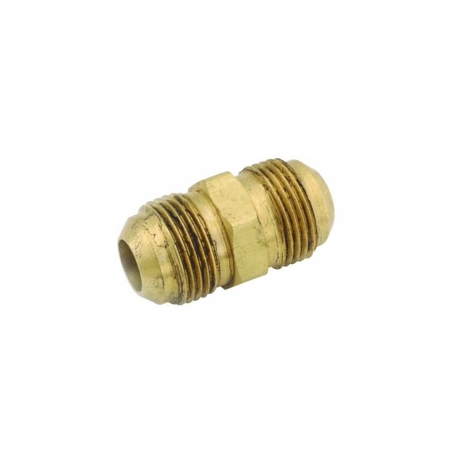 Anderson Metals Corp Inc 54802 06 Full Flare Union Brass Connector Fitting (Pack of 5)