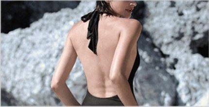 da Costume nero atletico Xiaoxiaozhang magro congiunti bagno M e sexy Sv75q