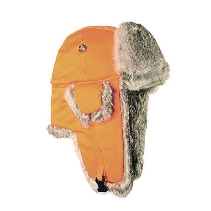 Mad Bomber Kids Blaze Supplex Aviator Pilot Hat Real Rabbit Fur Trapper  Hunting Cap 9127c3facb06