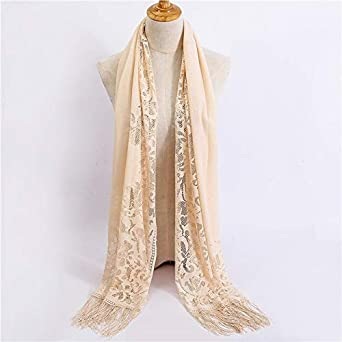 HITSAN INCORPORATION women scarf fashion summer thin solid scarves and wraps  lady pashmina bandana female hijab 0e104aa03f2
