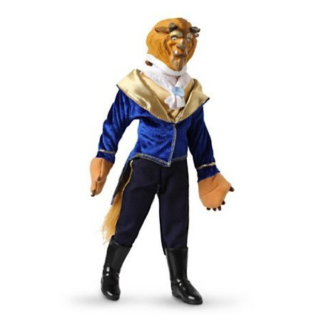 5Star-TD Disney The Beast 12' Classic Doll -'Beauty and The Beast'