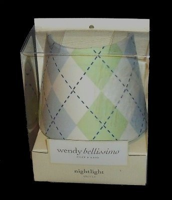 Wendy Bellissimo Argyle Nightlight