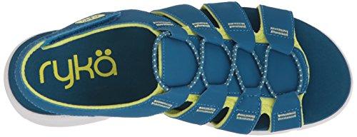 Ryka Misty Turquoise Yellow Sandal Fisherman Women's UUrq8g
