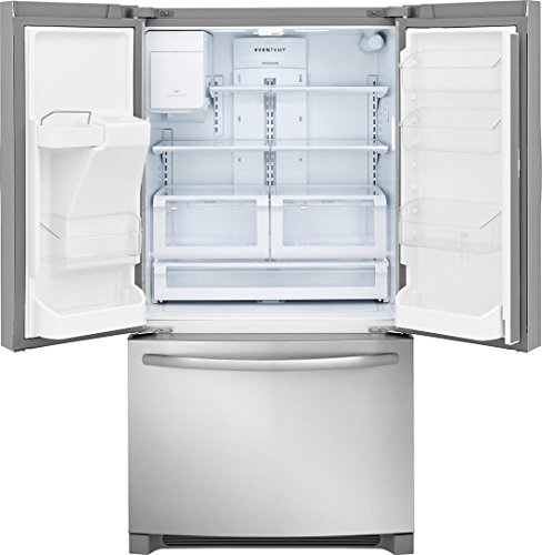Frigidaire FFHD2250TS Counter Depth French Refrigerator with ft. Total Capacity, Stainless