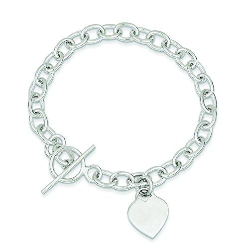 ling Heart Charm Bracelet ()