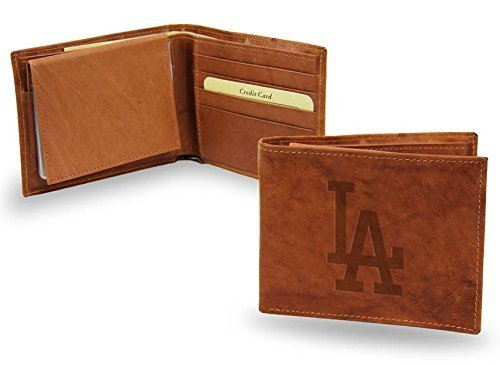 - Los Angeles Dodgers Official MLB Leather Billfold Wallet by Rico