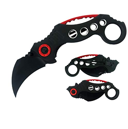 Impulse Product Karambit 3 in Black Blade Black Handle