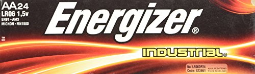Energizer AA Alkaline Industrial Value Pack Batteries 24 pk (Industrial Alkaline Batteries)