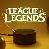 3D LED League of Legends Night Light Touch Table