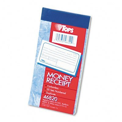 (TOPS Money and Rent Receipt Books)