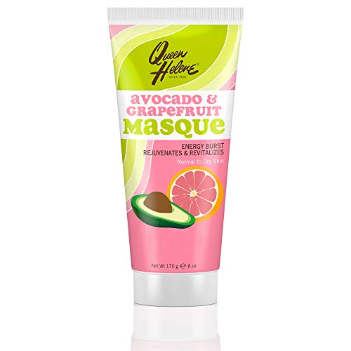 (Queen Helene Facial Masque, Avocado & Grapefruit, 6 Ounce [Packaging May)