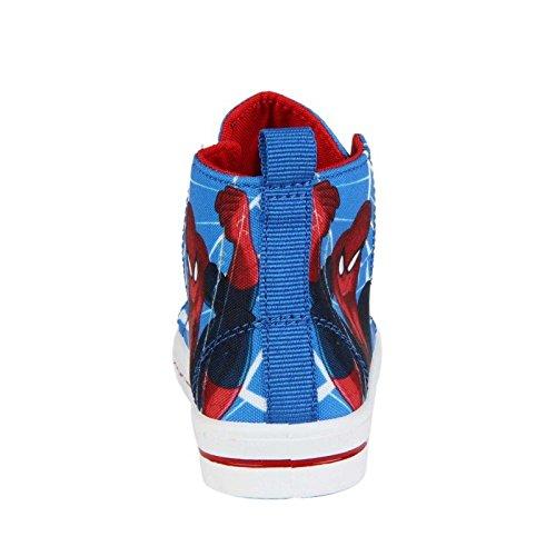 Canvas Und Rot nbsp;nbsp;blau nbsp;nbsp;jungen nbsp;nbsp;spiderman Sneaker dqvwpd