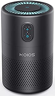 KOIOS Air Purifiers for Home Large Room 430ft², H13 HEPA Filter Air Cleaner for Bedroom Office, 20dB Quiet Odo