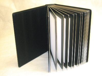 Amazoncom Professional 8x10 Black Silver Edged Slip In Wedding