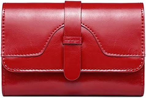 Sosaiga 지갑 레이디스-렉스 가죽 지갑 콤팩트 / Sosaiga Wallet Ladies - Three Fold Genuine Leather Coin Purse Compact