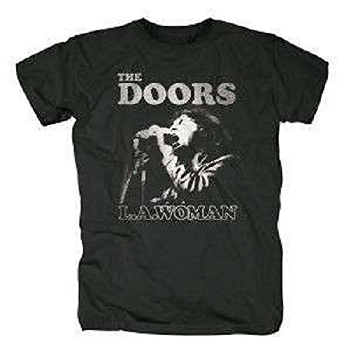 THE DOORS - SING IT OUT (L.A. (LA) WOMAN) - OFFICIAL MENS T SHIRT (S)