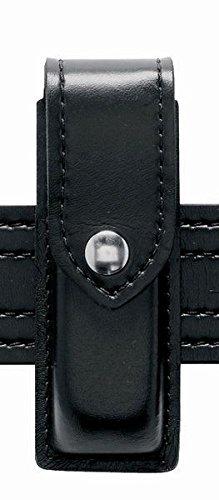 (Safariland 76 Single Handgun Magazine Pouch - Plain Black, Ambidextrous)