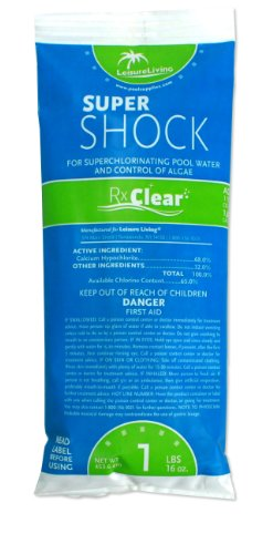 Rx Clear Deluxe Spring Swimming Pool Start Up Opening Chemical Kit For Pools Up To 7 500 Gallons