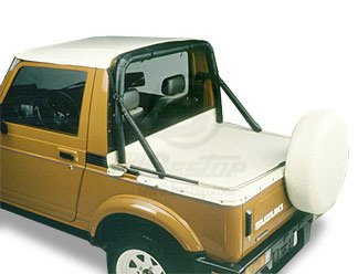 Suzuki Samurai Bestop Duster Deck Cover 90006-52 White Denim - All Years Samurai