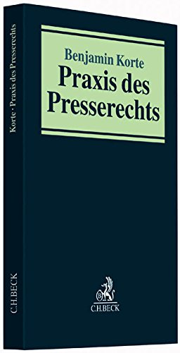 Praxis des Presserechts