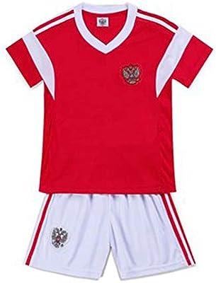 huge selection of 7b2af cbd19 Russia National Football Team Wears Kids T-Shirt Short ...