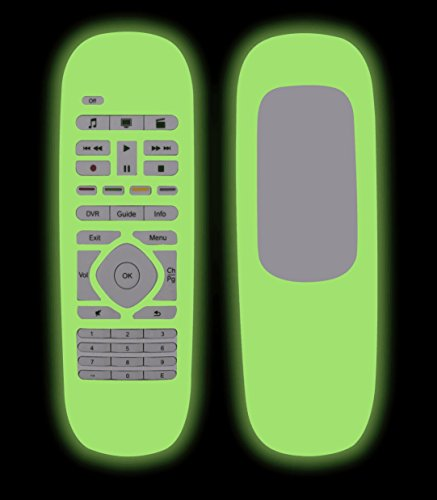 For Logitech Harmony Smart Case Cover, Lightweight Anti- Dust and Anti-Drop Silicone Protective Case for Logitech Harmony Smart Remote Control--Green