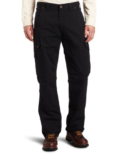 Carhartt Men's Ripstop Cargo Work Pant,Black,42W x - Skimpy Mini