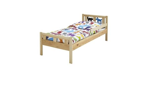 Ikea Cama Infantil KRITTER Estructura con somier de Madera ...