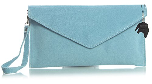 Italian Leather Clutch - 4