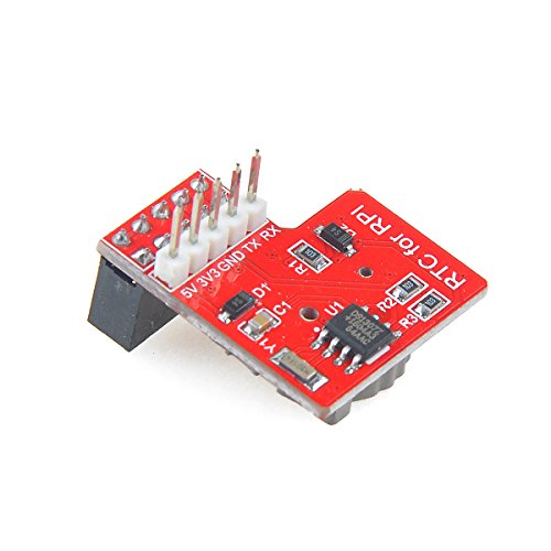 Price comparison product image Makerfire® Raspberry Pi RTC Module Real Time Clock Module DS1307 Chip with Coin Battery